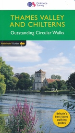 Wandelgids 25 Pathfinder Guides Thames Valley and Chilterns | Ordnance Survey