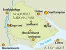 Wandelgids Walking in the New Forest | Cicerone