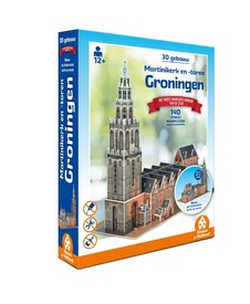 3D Puzzel 3D Martinikerk en Martinitoren Groningen | House of holland