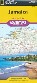 Wegenkaart - landkaart Adventure Map Jamaica | National Geographic