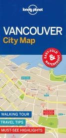 Stadsplattegrond City map Vancouver | Lonely Planet