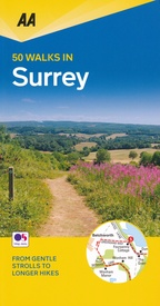 Wandelgids 50 Walks in  Surrey | AA