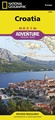 Wegenkaart - landkaart 3324 Adventure Map Croatia - Kroatië | National Geographic