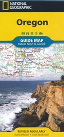 Wegenkaart - landkaart Guide Map Oregon | National Geographic