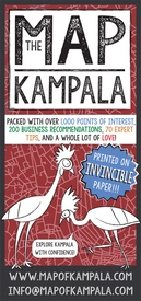 Stadsplattegrond Map of Kampala | African Guide Maps