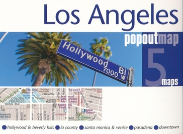 Stadsplattegrond Popout Map Los Angeles | Compass Maps