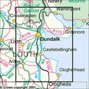 Topografische kaart - Wandelkaart 36 Discovery Armagh, Down, Louth, Meath, Monaghan | Ordnance Survey Ireland