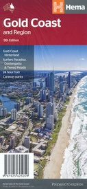 Wegenkaart - landkaart Gold Coast and region | Hema Maps