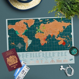 Scratch Map Travel – Backpacker Edition | Luckies