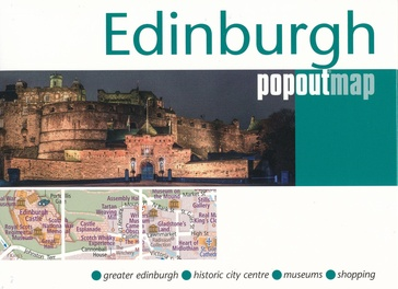 Stadsplattegrond Popout Map Edinburgh | Compass Maps
