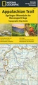 Wandelgids 1501 Topographic Map Guide Appalachian Trail - Springer Mountain to Davenport Gap | National Geographic
