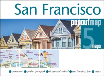 Stadsplattegrond Popout Map San Francisco | Compass Maps