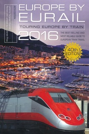 Opruiming - Reisgids Europe by Eurail 2016 | Globe Pequot