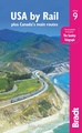 Treinreisgids USA by Rail & Canada's main routes | Bradt Travel Guides