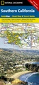 Wegenkaart - landkaart Guide Map Southern California | National Geographic