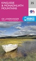 Wandelkaart - Topografische kaart 035 Landranger  Kingussie and Monadhliath Mountains | Ordnance Survey