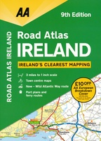 Road Atlas Ireland - Ierland