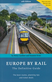 Treinreisgids Europe By Rail | Hidden Europe Publications