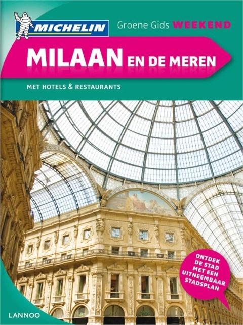 Michelin groene gids weekend Milaan en de meren | Lannoo | €10,99