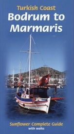 Wandelgids Turkish Coast: Bodrum to Marmaris | Sunflower books