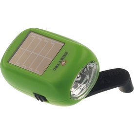 Zaklamp Kao Baby Swing Solar Flashlight Groen | Rubytec