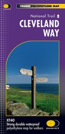 Wandelkaart Cleveland Way | Harvey Maps