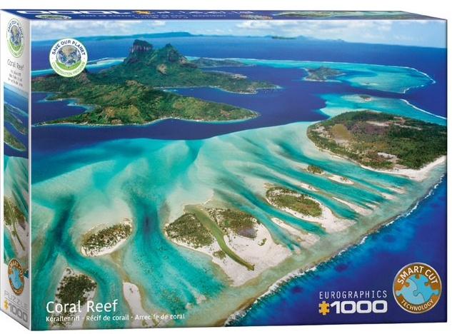 Puzzel koraalrif (1000 stukjes) cover