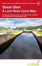 Fietskaart 47 Cycle Map Great Glen & Loch Ness | Sustrans