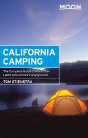 Boek over kamperen in Californie