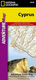 Wegenkaart - landkaart 3318 Adventure Map Cyprus | National Geographic