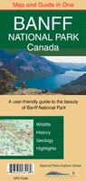 Banff National Park Map and Guide in one