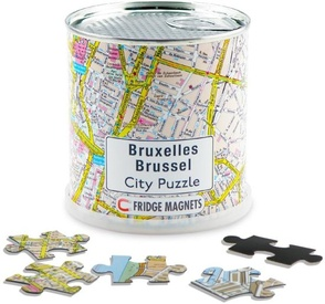 Legpuzzel City Puzzle Magnets Brussel | Extragoods