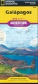 Wegenkaart - landkaart 3408 Adventure Map Galapagos eilanden | National Geographic