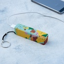 Powerbank met vintage wereldkaart | Rex London