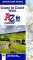 Wandelatlas Adventure Atlas Coast to Coast Walk | A-Z Map Company