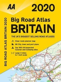 Wegenatlas -   Big Road Atlas Britain 2020 | AA