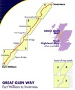 Wandelkaart Great Glen Way | Harvey Maps