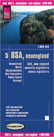 Wegenkaart - landkaart 05 USA New England | Reise Know-How Verlag