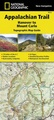 Wandelgids 1511 Topographic Map Guide Appalachian Trail – Hanover to Mount Carlo  | National Geographic
