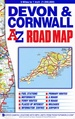 Wegenkaart - landkaart Road Map Devon & Cornwall | A-Z Map Company