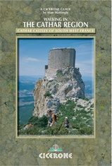 Wandelgids Walks in the Cathar Region  | Cicerone