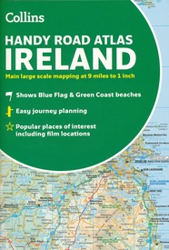 Wegenatlas Handy Road Atlas Ireland - Ierland | Collins