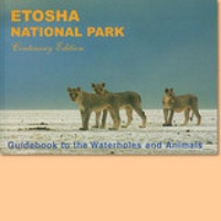 Natuurgids - Etosha National Park - Etosha Nationaal Park - Guidebook to the waterholes and animals | Venture Publications
