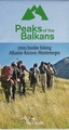 Wandelkaart Peaks of the Balkans | Huber Verlag