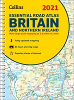 Britain Essential Road Atlas 2021
