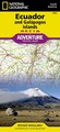 Wegenkaart - landkaart 3403 Adventure Map Ecuador & Galapagos | National Geographic