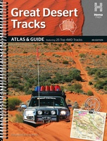 Australië - Great Desert Tracks Atlas & Guide