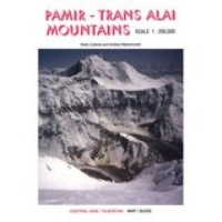 Landkaart Wegenkaart Pamir - Trans Alai Mountains | West Col Productions