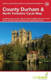 Fietskaart 32 Cycle Map County Durham & North Yorkshire | Sustrans