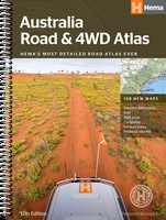 Australië - Australia Road and 4WD Atlas